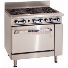 Imperial 6 Burner Gas Range IR6