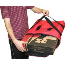 "Delivery bag - polyester 18 x 19 x 5"" w/straps"