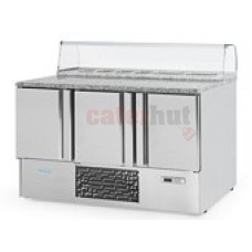 Infrico ME1003PIZZA/09 Refrigerated Prep Counter