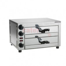 Maestrowave MEMT15060 Pizza Oven , Capacity 2 x 12inch pizza's