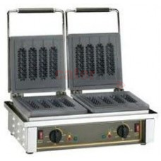 Roller Grill GED80 Double Four Piece Stick 8 Waffle Iron