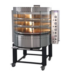 GAS Pizza Oven with Rotating Deck mod.RP3 - Capacity 24 pizzas-Potential for 240 pizzas (30 cm) per hour