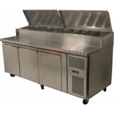 Pizza Prep Counter 3 Door (40cm working area)