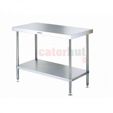 Stainless Steel Centre Tables, 60cm Deep (Choose Length)