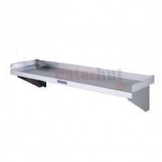 Stainless Steel Wall Shelves With Upstands 300mm Deep