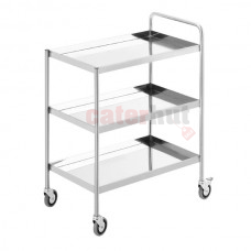 3 Tier Trolley + Push Bar + Wheels