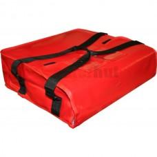 "Delivery bag, vinyl, 16 x 16 x 5"" w/straps"