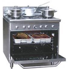 Tri-Star  TSR6CE 6 Burner Range Oven